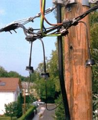 арматура для крепления кабеля сип